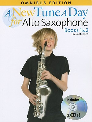 A New Tune A Day Alto Saxophone Omnibus Edition Books 1 & 2 By Bennett, Ned